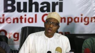 Janar Muhammadu Buhari Dan takarar Shugaban kasa a Jam'iyyar adawa ta APC a Najeriya