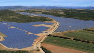 France's largest solar energy farm