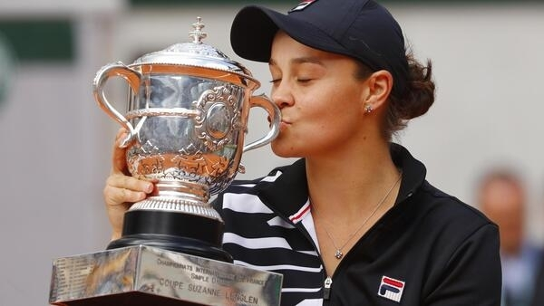 Ashleigh Barty won her first Grand Slam title at the French Open.