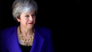 La Première ministre britannique Theresa May à Downing Street, à Londres, le 2 mai 2019.