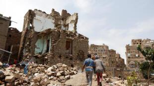 Uharibu unanofanywa katika vita inayoendelea nchini Yemen.