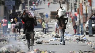 Port-au-Prince a été le théâtre de violentes manifestations contre le président haïtien Jovenel Moïse.