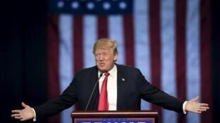 Donald Trump cria polêmica em praticamente todos seus discursos.