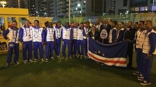 Comitiva de Cabo Verde Rio2016