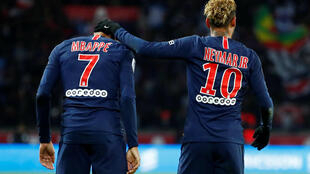 Kylian Mbappé and Neymar scored for Paris Saint-Germain in their 2-1 win over Lille.