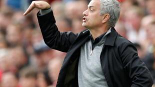Manchester United trainer Jose Mourinho