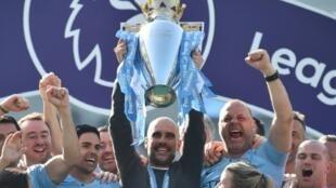 Manchester City won a second straight Premier League title last season