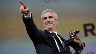 Режиссер Альфонсо Куарон —  обладатель «Золотого льва» 75-го Венецианского кинофестиваля. 8 сентября 2018