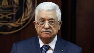 O presidente da autoridade palestina, Mahmud Abbas.