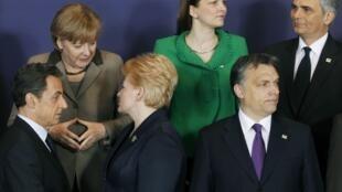 Экстренный саммит лидеров Евросоюза по Ливии и Северной Африке. Брюссель 11/03/2011