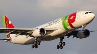 Aeronave da companhia aérea estatal portuguesa TAP