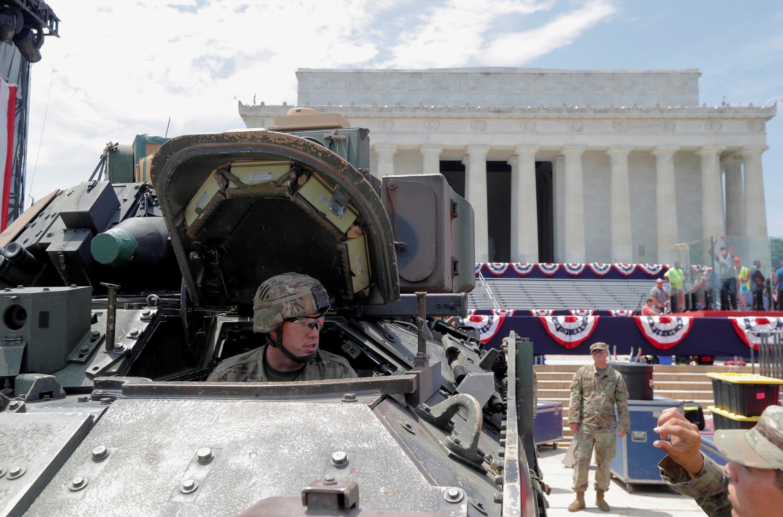 04/07/19- Inspirado pela França, Trump muda tradição e organiza festa militar no 4 de julho