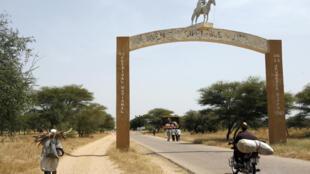 La ville frontalière de Diffa, au Niger, se trouve à 7 kilomètres du Nigeria.