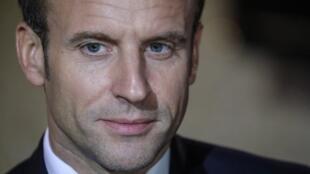 Le président français Emmanuel Macron participe pour la première fois à la conférence sur la sécurité de Munich.