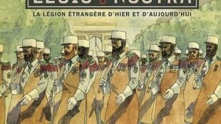 Couverture de la bande dessinée «Legio Nostra» d'Hervé Loiselet et Benoît Blary.