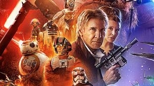 Cartaz do novo episódio da saga Star Wars: O Despertar da Força