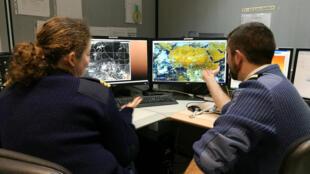 Le Centre interarmées de soutien météo-océanographique aux forces sert de soutient aux différentes opérations avec les prévisions météorologiques