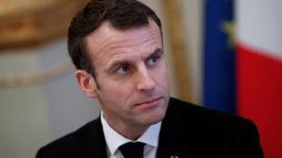 30 % des personnes interrogées sont satisfaites de l'action d'Emmanuel Macron.