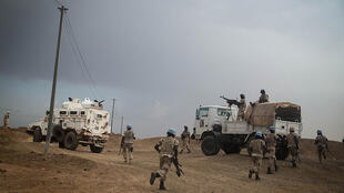 La force onusienne de la Minusma à Kidal, dans le nord du Mali, en septembre 2015 (image d'illustration).