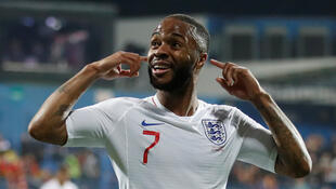 Raheem Sterling scored twice during England's 6-0 win in Bulgaria.