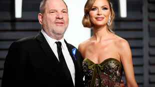 Producer Harvey Weinstein and his wife fashion designer Georgina Chapman at the 89th Academy Awards - Oscars Vanity Fair Party, Beverly Hills, California USn, 26 of February, 2017.
