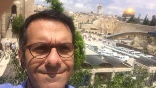 O investidor brasileiro Michel Abadi, fundador da Maverick Ventures, em Jerusalém.
