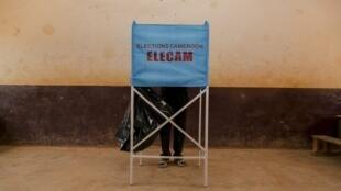 Les Camerounais de onze circonscriptions en zones anglophones vont devoir retourner aux urnes (ici à Yaoundé, le 9 février 2020).