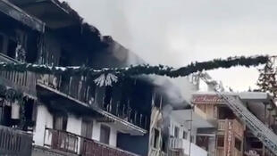 After the fire at the Courchevel Ski resort 20 January 2019