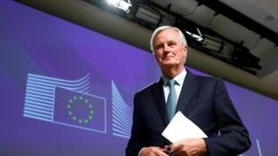 Michel Barnier, babban mai shiga tsakani na Tarayyar Turai kan ficewar Birtaniya daga Turai