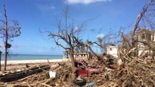 Haiti foi um dos países vítima de catástrofes naturais recentes, com a passagem do furacão Matthew