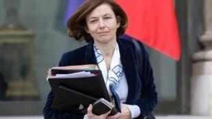 La ministre Florence Parly, le 6 février 2019, à l'Élysée à Paris.