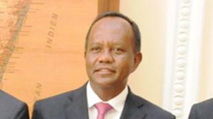 Rivo Rakotovao, président de la Répblique par intérim à Madagascar.