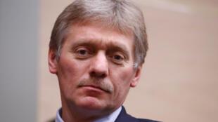 Le porte-parole du Kremlin, Dmitri Peskov, ici en décembre 2017.