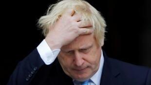 Le Premier ministre britannique Boris Johnson, le 9 septembre 2019, à Dublin. (Photo d'illustration)