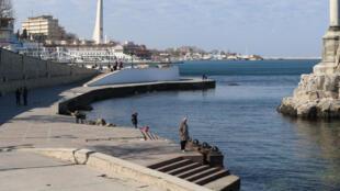 (Ảnh minh họa). Thành phố Sébastopol, bán đảo Crimée.