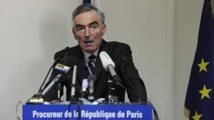 Paris prosecutor Jean-Claude Marin