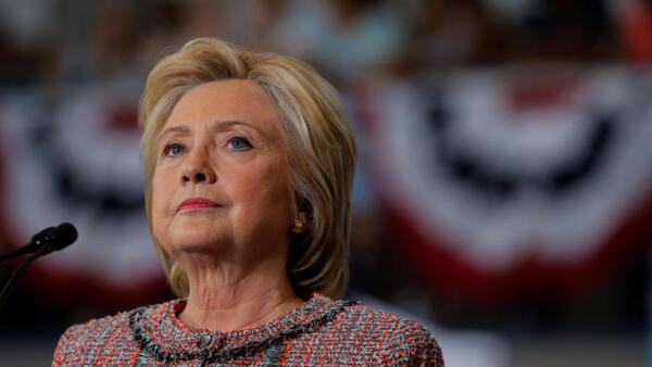 Hillary Clinton à Greensboro, en Caroline du Nord, le 15 septembre 2016.