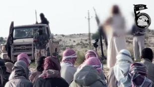 Extremistas islâmicos do grupo Ansar Bayt al-Maqdis, que conta com a participação ativa de ex-militares e jurou obediência ao grupo Estado Islâmico.