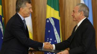 Macri defende o fortalcimento do Mercosul