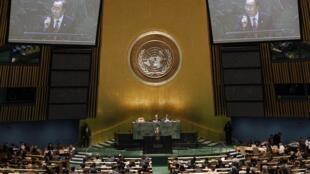 Выступление генерального секретаря ООН Пан Ги Муна на конференции по ДНЯО.