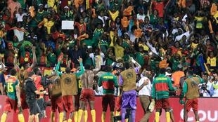 Fans celebrate as Cameroon book place in CAN 2017 finals