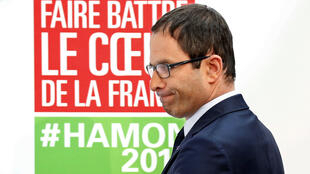 Ứng cử viên tổng thống đảng Xã Hội, Benoît Hamon.