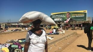 Esther Chungu, from rural Wedza in Zimbabwe, says she is going to vote early in the elections on Monday