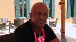 Manuel Nascimento, mais conhecido por 'Manelinho', Presidente da Federação da Guiné-Bissau.