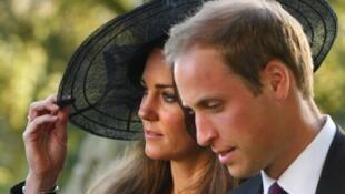 Prícipe William e Kate Middleton.
