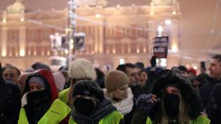 Антиправительственные протесты в Белграде, 15 декабря 2018 год
