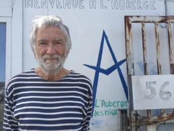 RFI/Alexis Bédu  François Guennoc, vice-président de l'association calaisienne venant en aide aux personnes exilés « l'Auberge des migrants ».