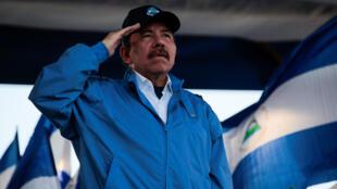 El presidente de Nicaragua Daniel Ortega, Managua, 5 de septiembre de 2018.