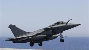O Egito vai ser o primeiro cliente estrangeiro do caça francês Rafale.