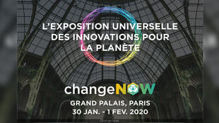 Change Now 2020 au Grand Palais à Paris, du 30 janvier au 1er février 2020.